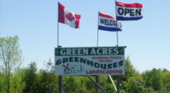 Green Acres Signage